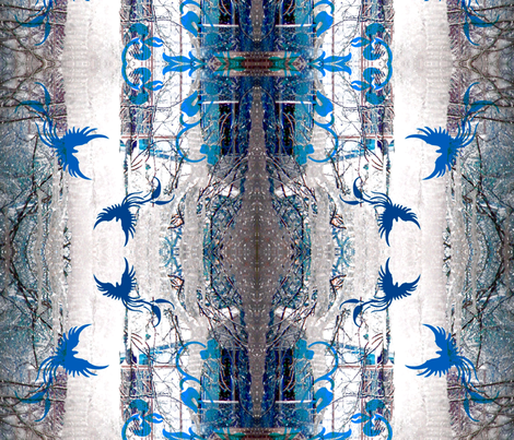 Fantasia Ice fabric by paragonstudios on Spoonflower - custom fabric