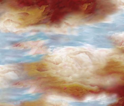 sunrise print fabric by lotfi on Spoonflower - custom fabric
