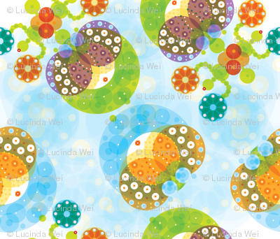 Ocean Garden & Sea Cucumbers - © Lucinda Wei