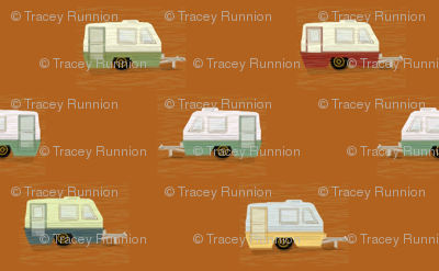 "HAPPY CAMPERS in ""RUSTY"""