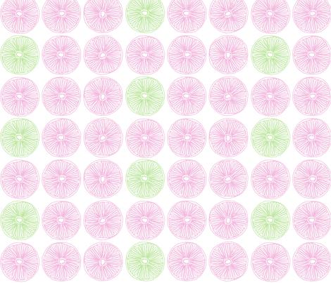"SLICE in ""PETAL & PEA"" fabric by trcreative on Spoonflower - custom fabric"