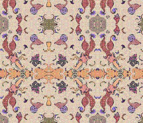 007b1bliq1pointill fabric by hildebrandt on Spoonflower - custom fabric