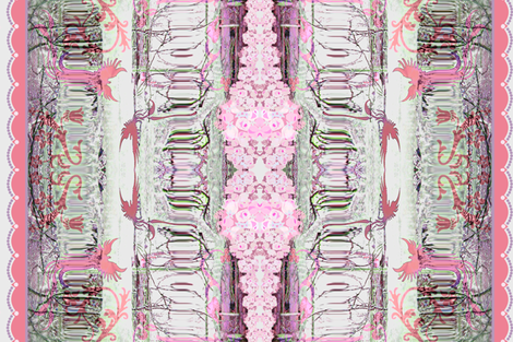 Pink Ice fabric by paragonstudios on Spoonflower - custom fabric