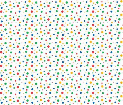 Spots fabric by pininkie on Spoonflower - custom fabric