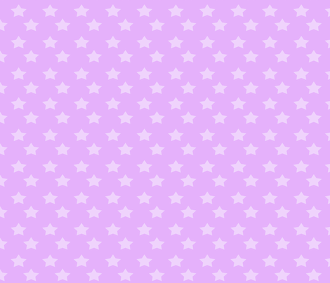 Purple Stars fabric by kelly's_keychains on Spoonflower - custom fabric
