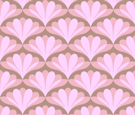 fan gras pink fabric by myracle on Spoonflower - custom fabric
