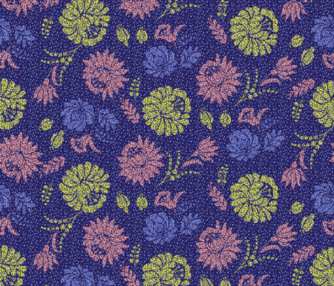 hungarianflowers fabric by miiwii on Spoonflower - custom fabric