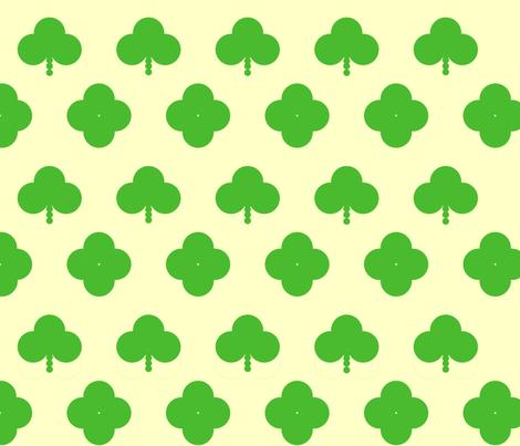 Clover_All_Over fabric by weaver_phoenyx_aka_birdy on Spoonflower - custom fabric
