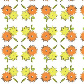 illustrated-floral-motif
