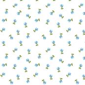 Tiny Flower - Blue