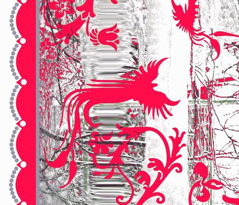 Flamingo Ice fabric by paragonstudios on Spoonflower - custom fabric
