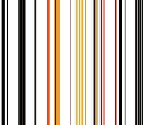 A_Good_Morning / multi stripe fabric by paragonstudios on Spoonflower - custom fabric