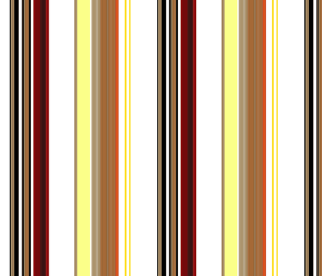 Toast and Jam Stripe fabric by paragonstudios on Spoonflower - custom fabric