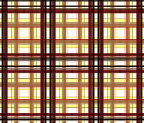 Toast_and_Jam_plaid fabric by paragonstudios on Spoonflower - custom fabric