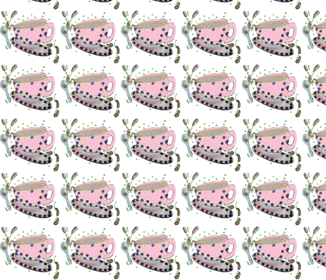 tea_cup_spill fabric by cyndilou on Spoonflower - custom fabric