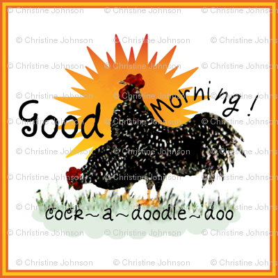 A Good Morning / roosters