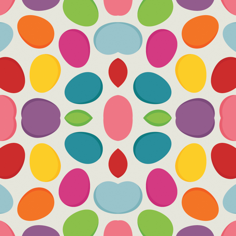 Easter egg pattern wallpaper - utehil - Spoonflower