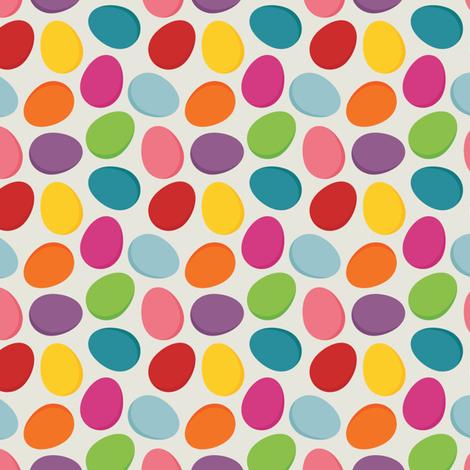 Easter egg pattern fabric - utehil - Spoonflower