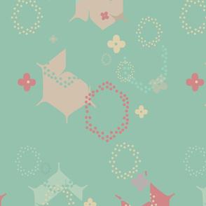 Organic Geometry Polka Dots
