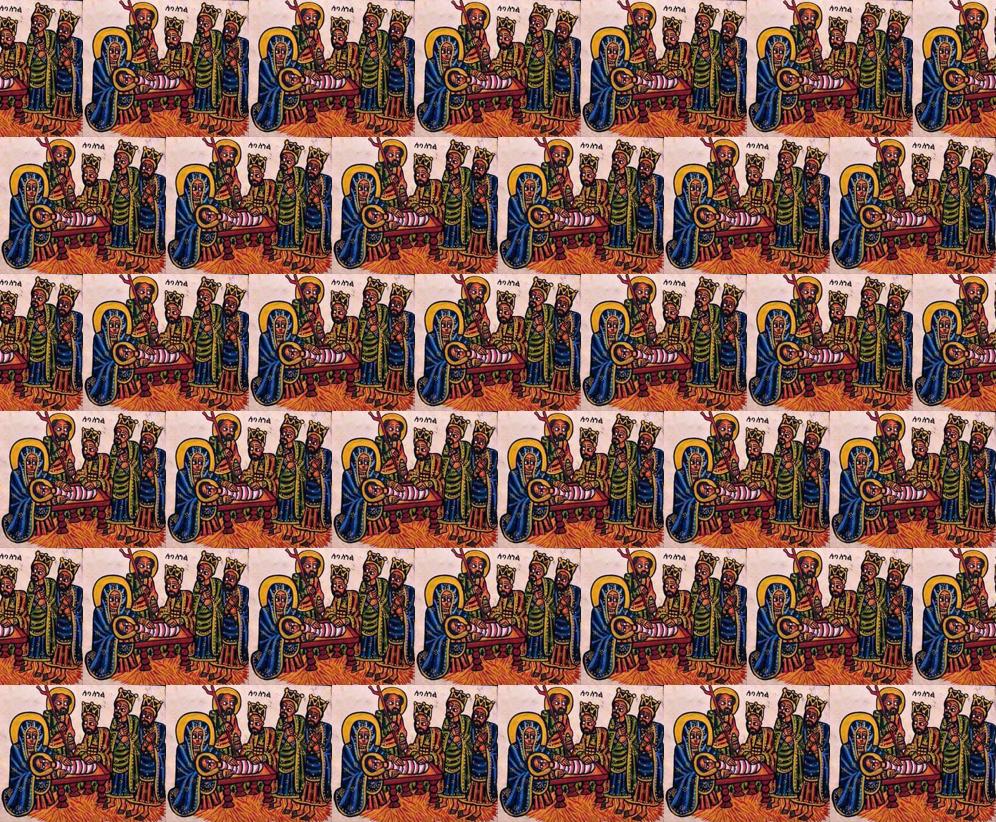 ethiopian nativity fabric giftwrap wanganegresse spoonflower
