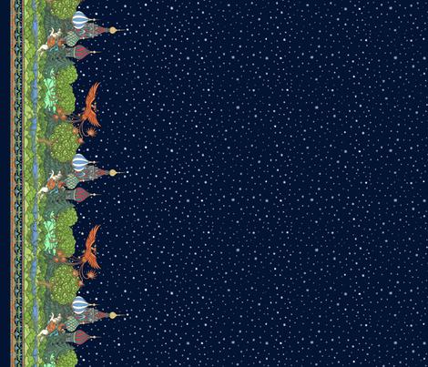 Moonless Firebird fabric by ceanirminger on Spoonflower - custom fabric