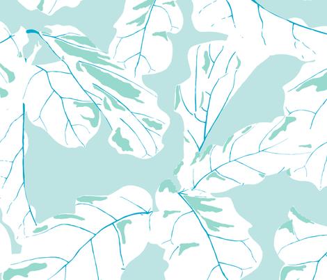 Tropicali in Bali fabric by domesticate on Spoonflower - custom fabric