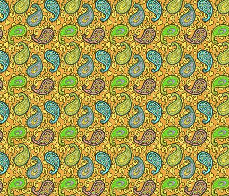 ©2011 paisley sean 3B fabric by glimmericks on Spoonflower - custom fabric