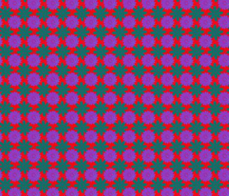 Southwest Megafiori fabric by jan4insight on Spoonflower - custom fabric