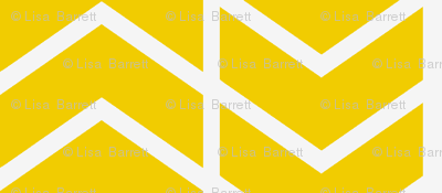 chevron stripe in gold