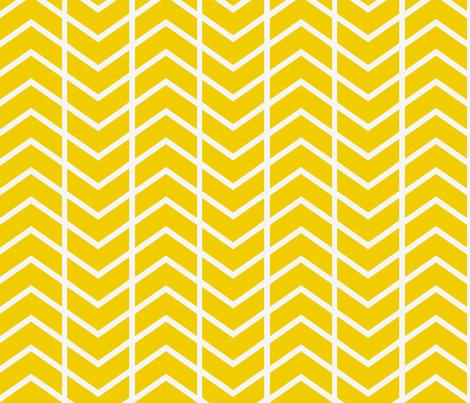 chevron stripe in gold fabric by ninaribena on Spoonflower - custom fabric