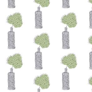 Green Hydrangea_