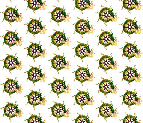 ©2011 dragon fabric by glimmericks on Spoonflower - custom fabric