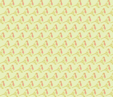 Robin fabric by littlebeardog on Spoonflower - custom fabric