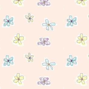 LG Whimsical Petals Pink