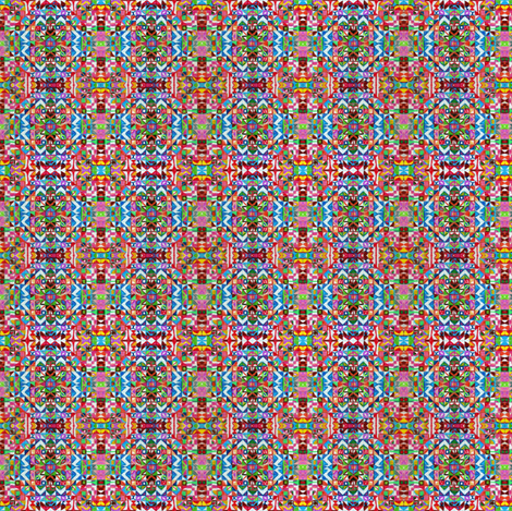 Kaleidoscope 1 fabric by cheeseandchutney on Spoonflower - custom fabric