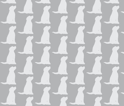 Dog  fabric by littlebeardog on Spoonflower - custom fabric