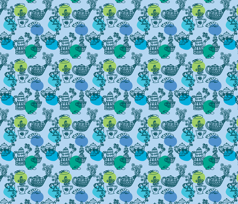 a_table fabric by nadja_petremand on Spoonflower - custom fabric