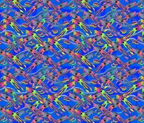 ©2011 Calimari fabric by glimmericks on Spoonflower - custom fabric