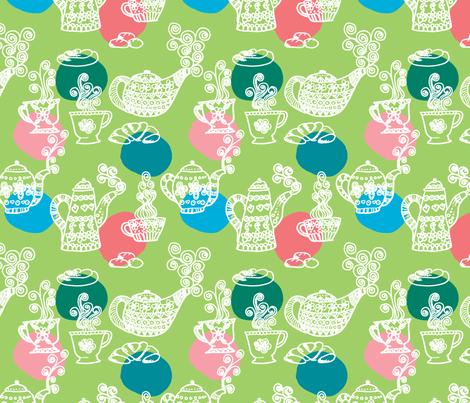 a_table_vert_L fabric by nadja_petremand on Spoonflower - custom fabric