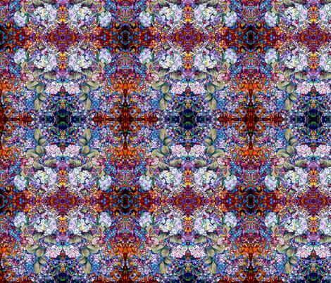 Hydrangea #1 fabric by colorcrazed on Spoonflower - custom fabric