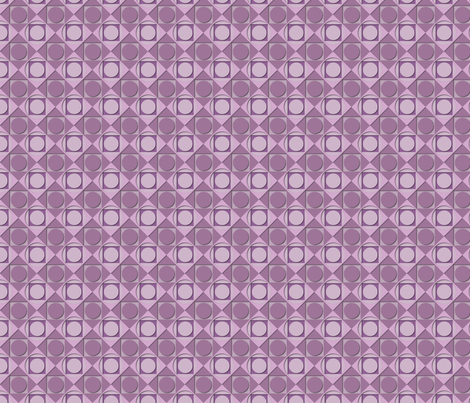 ©2011 circles quare orchid fabric by glimmericks on Spoonflower - custom fabric