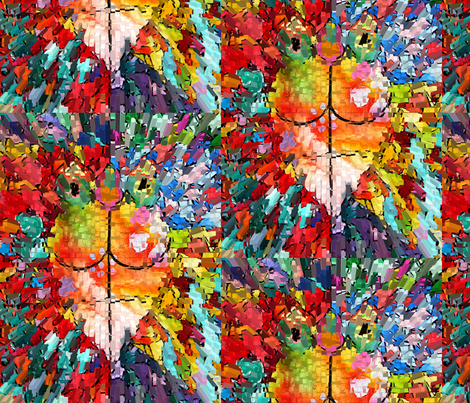 A Fish For Olivia # 2 fabric by colorcrazed on Spoonflower - custom fabric