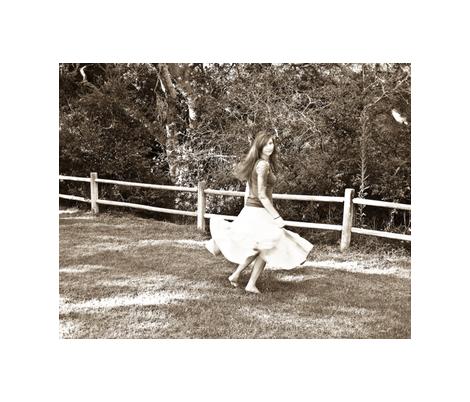 Dancing Rachel fabric by captiveinflorida on Spoonflower - custom fabric