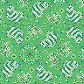 Pixelated Paisley