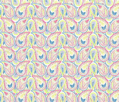 Rainbow Paisley