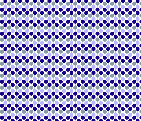 Beaded Dot Purple fabric by melaniesullivan on Spoonflower - custom fabric