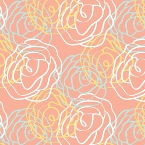 Garden Party Collection- Small Pink Pattern