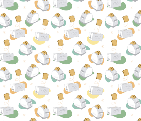 Toast to Toast fabric by jenimp on Spoonflower - custom fabric