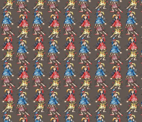 R029-039_lady_jokers_for_fabric_smaller_brown_shop_preview