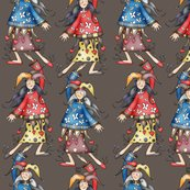 R029-039_lady_jokers_for_fabric_smaller_brown_shop_thumb
